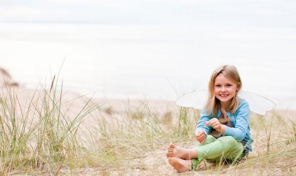 Lily at Roseisle Beach