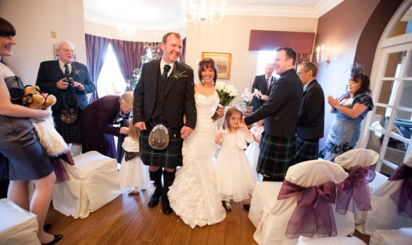 Malcolm and Dawn's Surprise Loch Ness Wedding