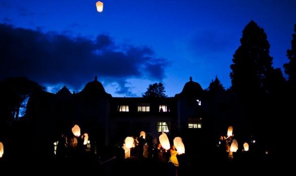 Achnagairn House Wedding Lanterns