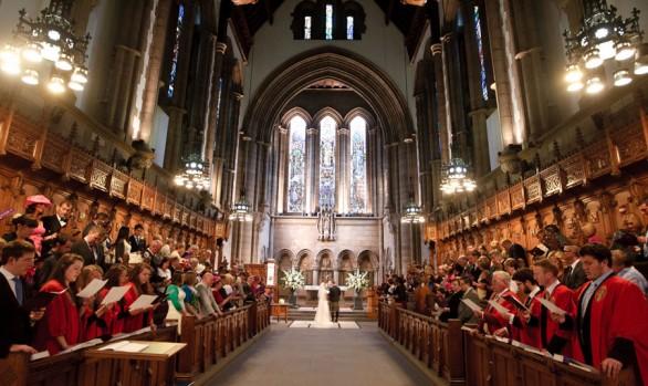 A Glasgow University Chapel Wedding