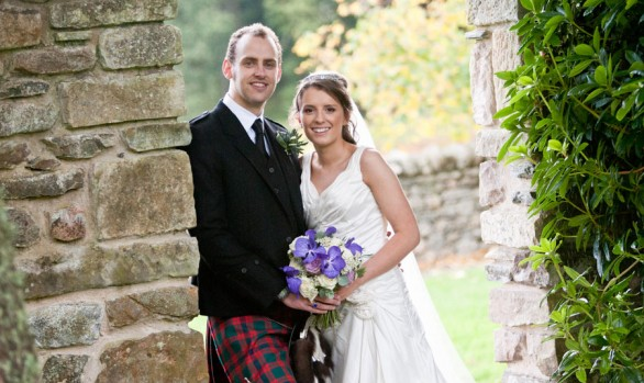 Dugald and Jen - A Loch Ness Country House Hotel Wedding