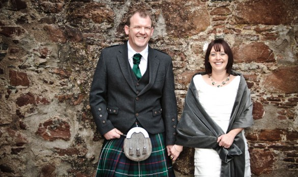 Dawn and Malcolm - A  Relaxed Loch Ness Wedding