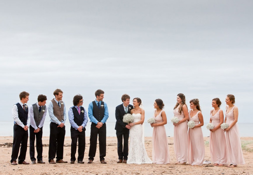 harvest moon beach wedding dunbar