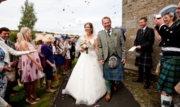 Jenny and Mike - A Collessie Church Wedding Ceremony