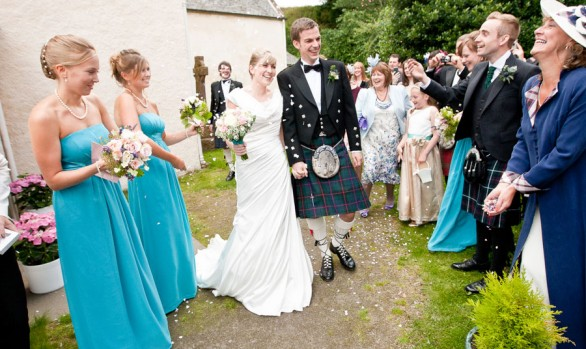 Hamish and Cairine - A Cromarty East Church wedding ceremony