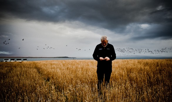 Duncan at Octomore Farm