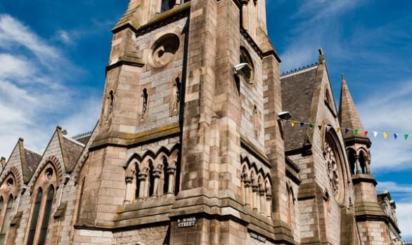 Claire and Cameron - Gilcomston Church