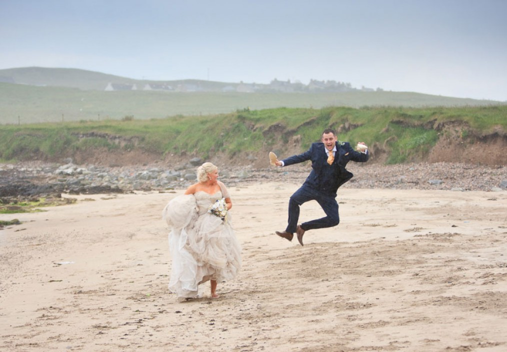 bayble beach wedding western isles