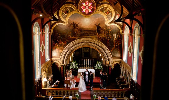 Lottie and Hutchie - A Murthly Castle Wedding