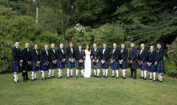 The Newton Hotel, Nairn - The Wedding of Ally and Margaret Mary