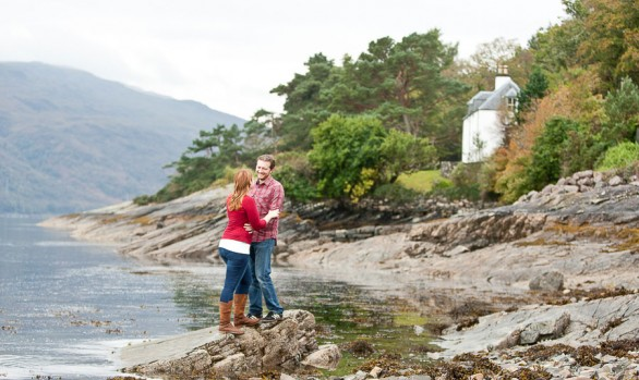 Monica and Daniel - Lochalsh Pre Wedding Photos