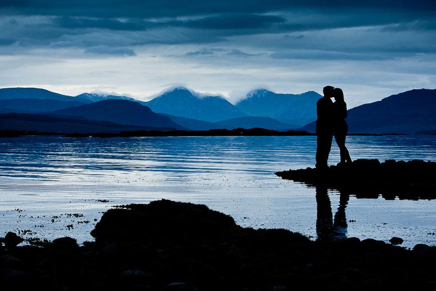 isle of skye pre wedding engagement photos cuilin hills blue