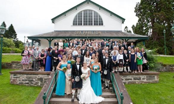 Hamish and Cairine - A Strathpeffer Pavilion Wedding