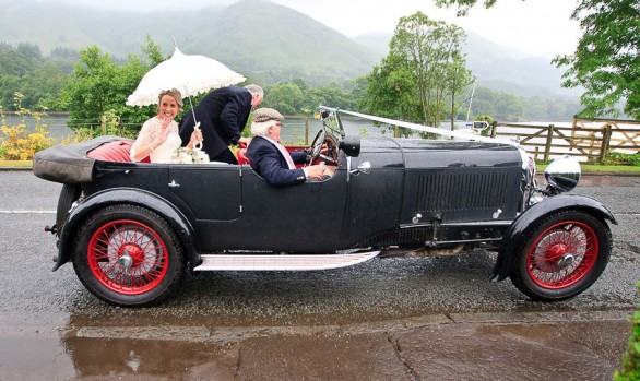 Katy and Grant - A St Fillans Wedding