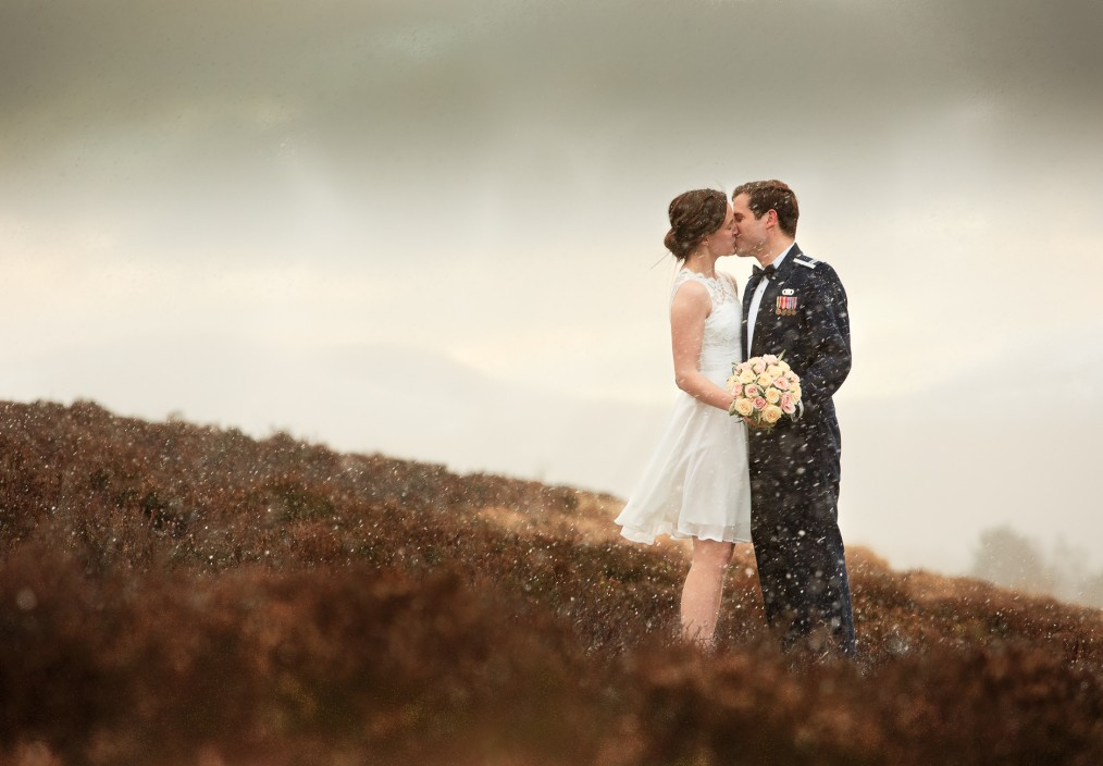 aberdeenshire wedding photo