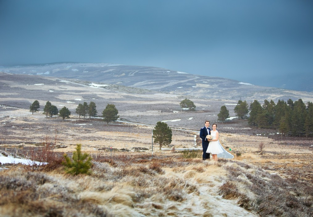 scottish winter wedding