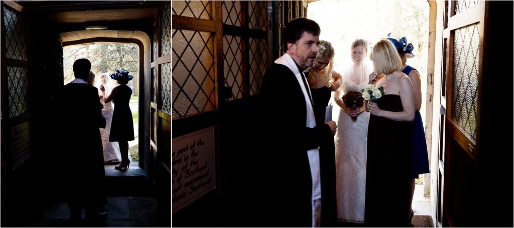 dunkeld arrival of the bride