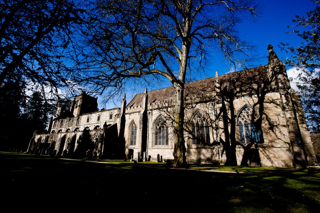 dunkeld cathedral exterior