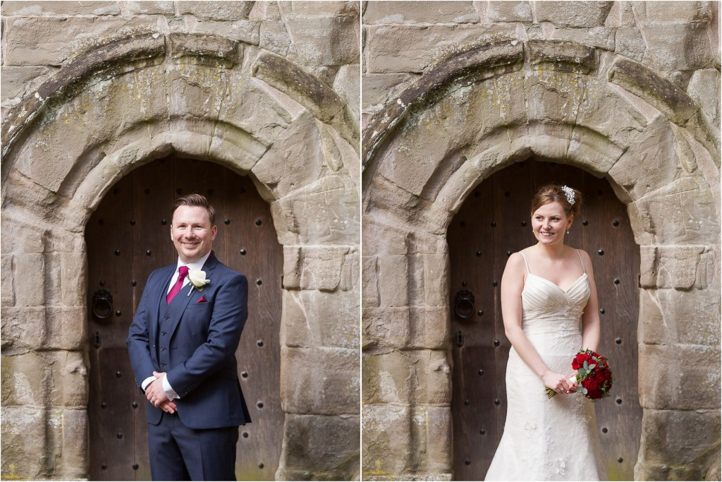 perthshire bride and groom