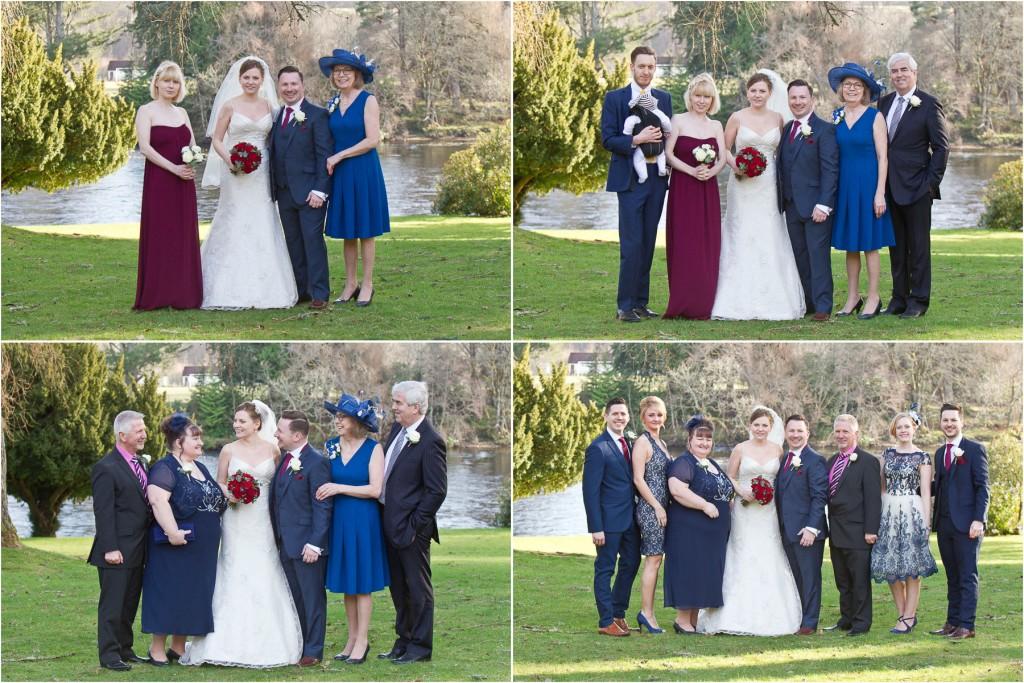 dunkeld wedding group shots