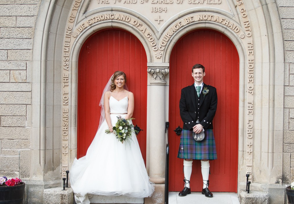 grantown wedding photo