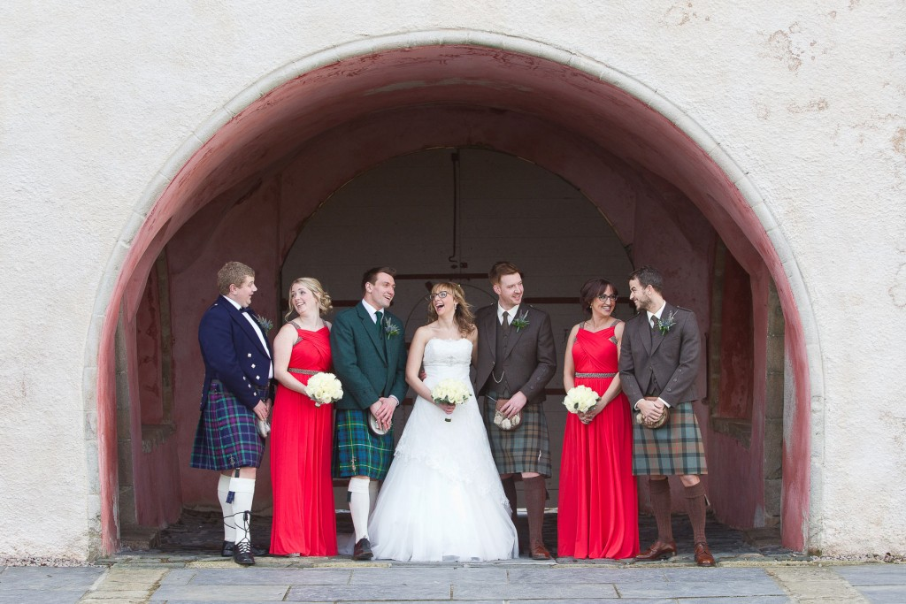 meldrum house wedding party