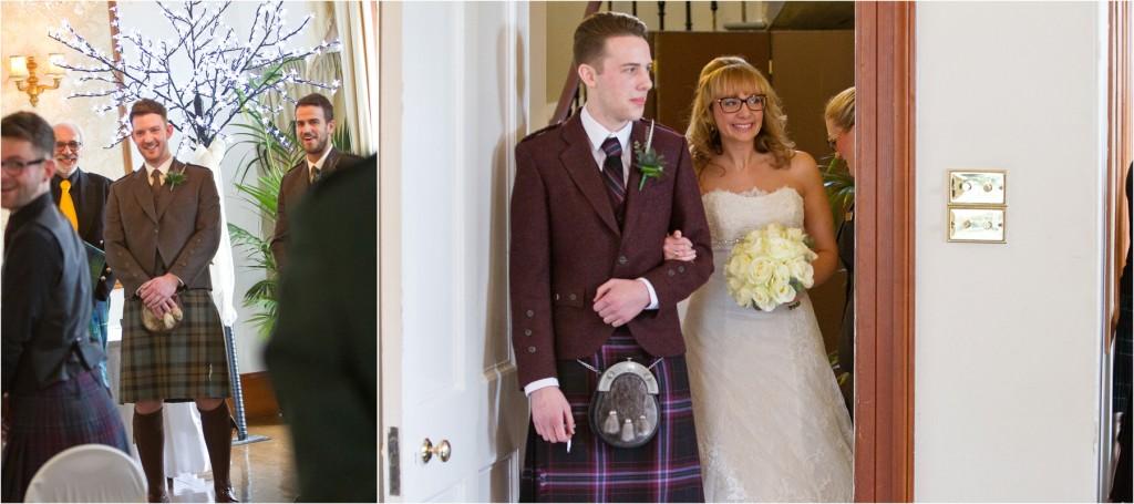 aberdeenshire intimate wedding