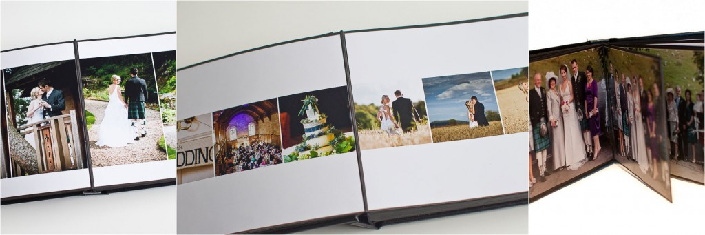 Combi Book wedding album inverness