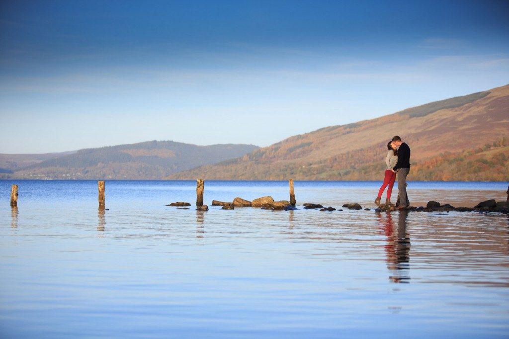 loch tay engagement