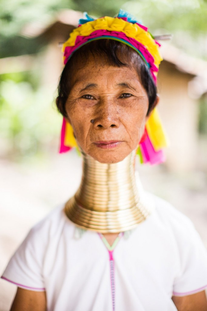 long neck woman thailand